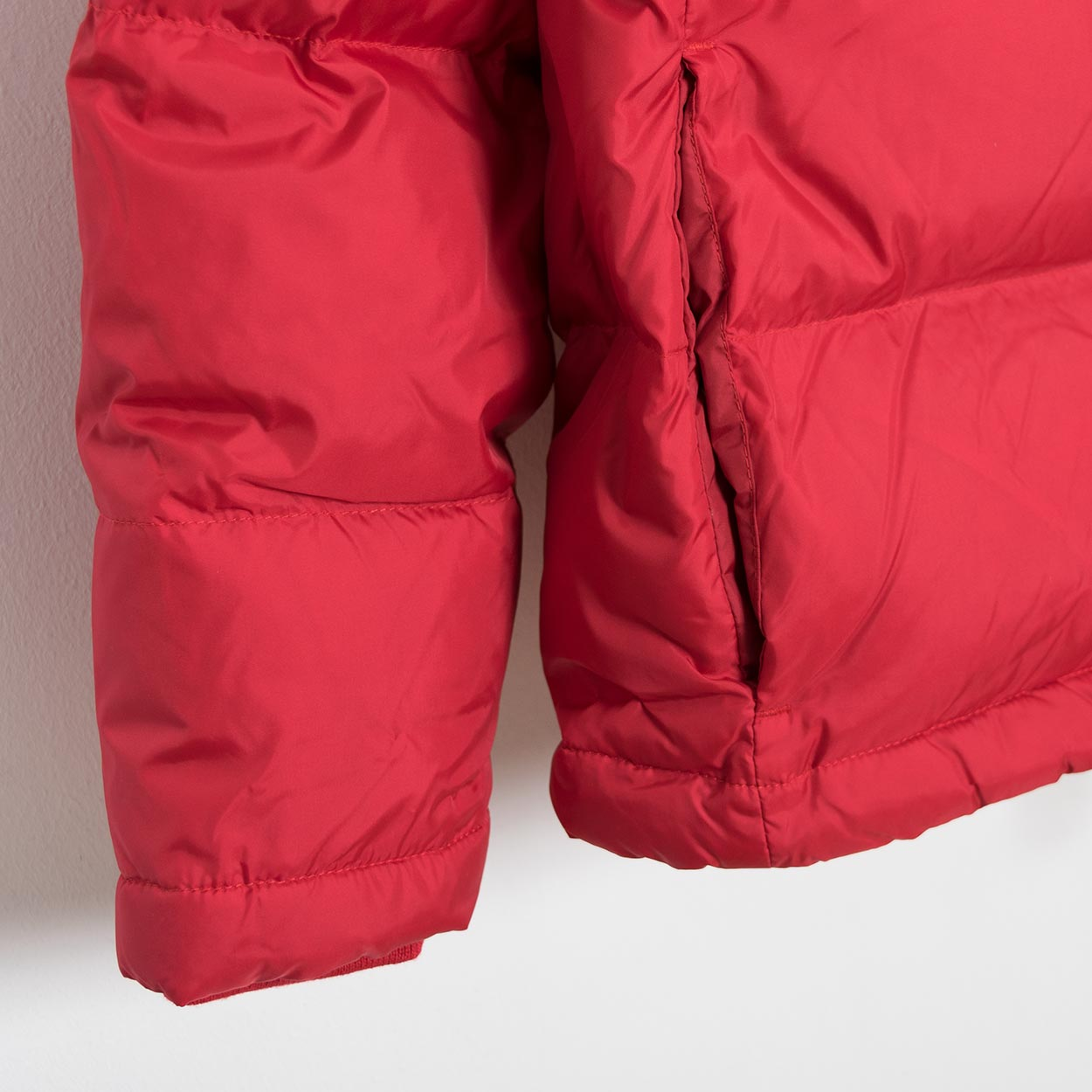 Wood Wood Tim Down Jacket -Red