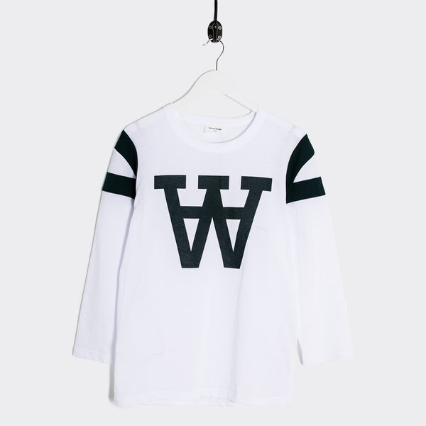 Wood Wood William Longsleeve - White