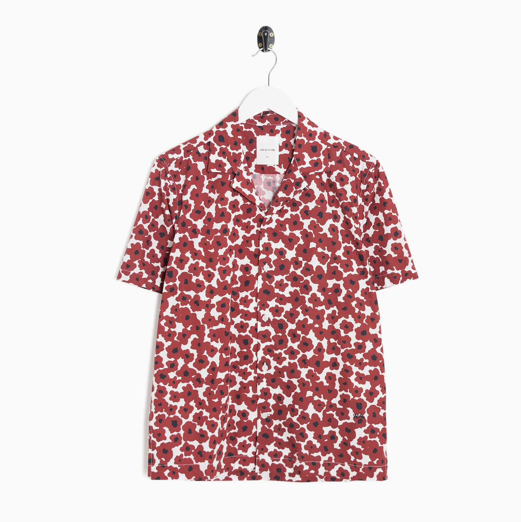 Wood Wood Brandon Shirt - Floral Red