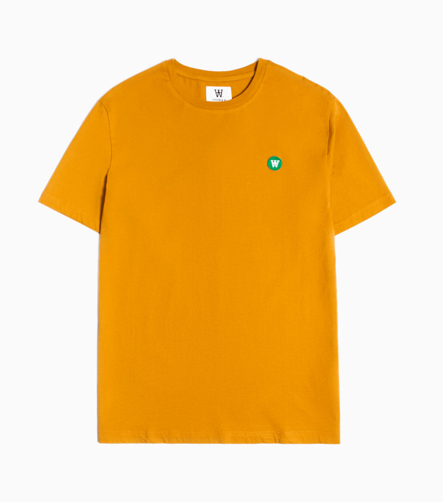 Wood Wood Double A Ace T-Shirt - Dark Orange