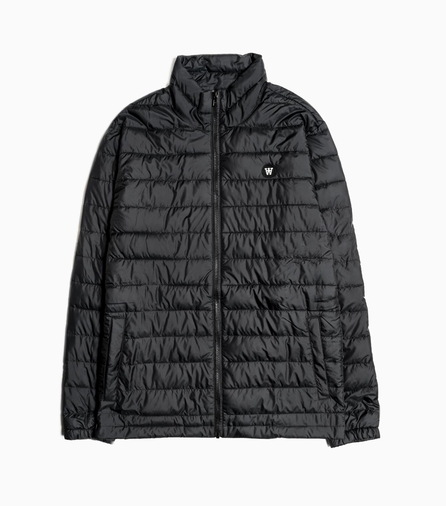 Wood Wood Double A Joel Quilted Jacket - Black Jacket - CARTOCON