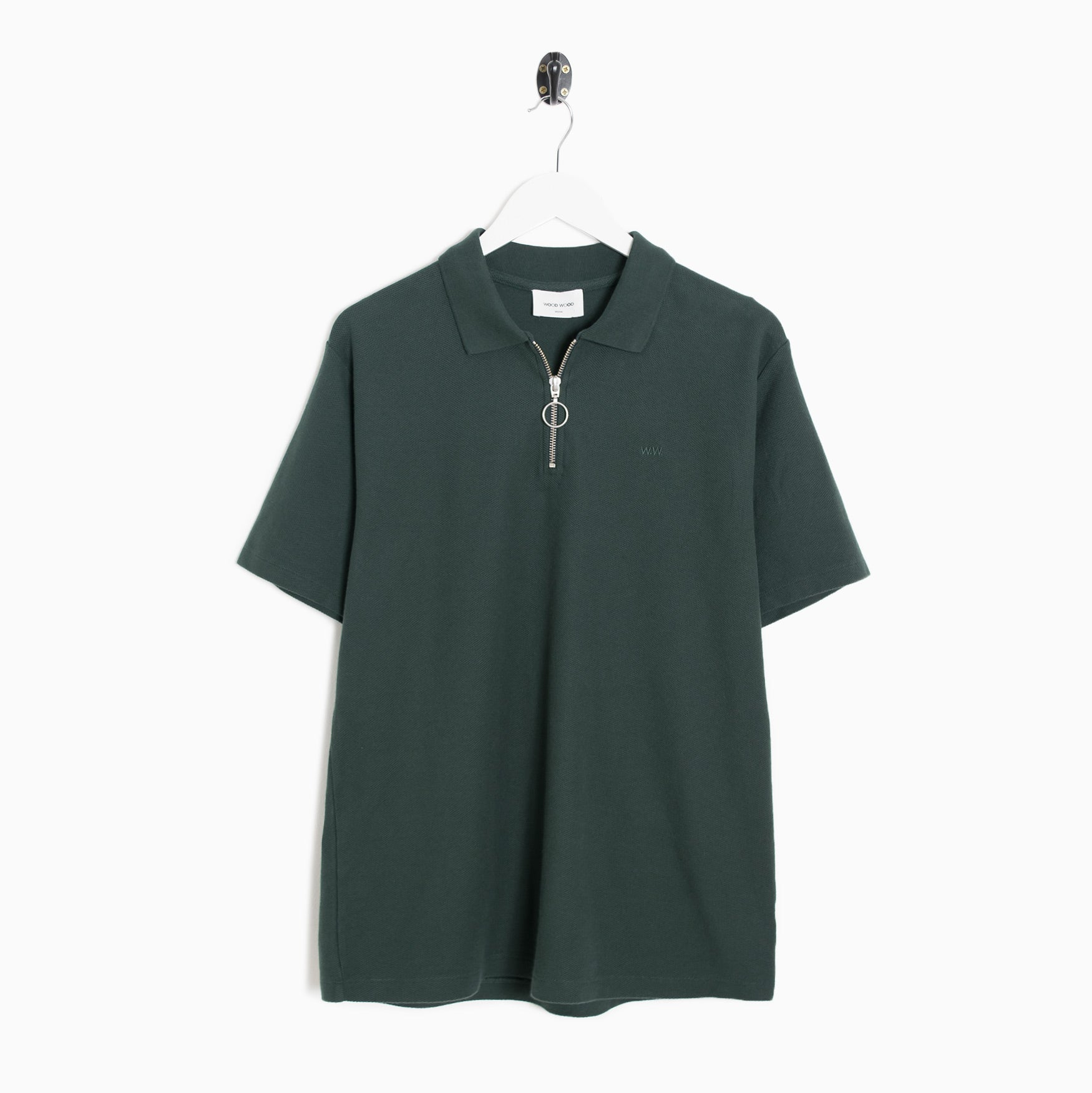 Wood Wood BOWER - Polo - dark green Ojx8Kr