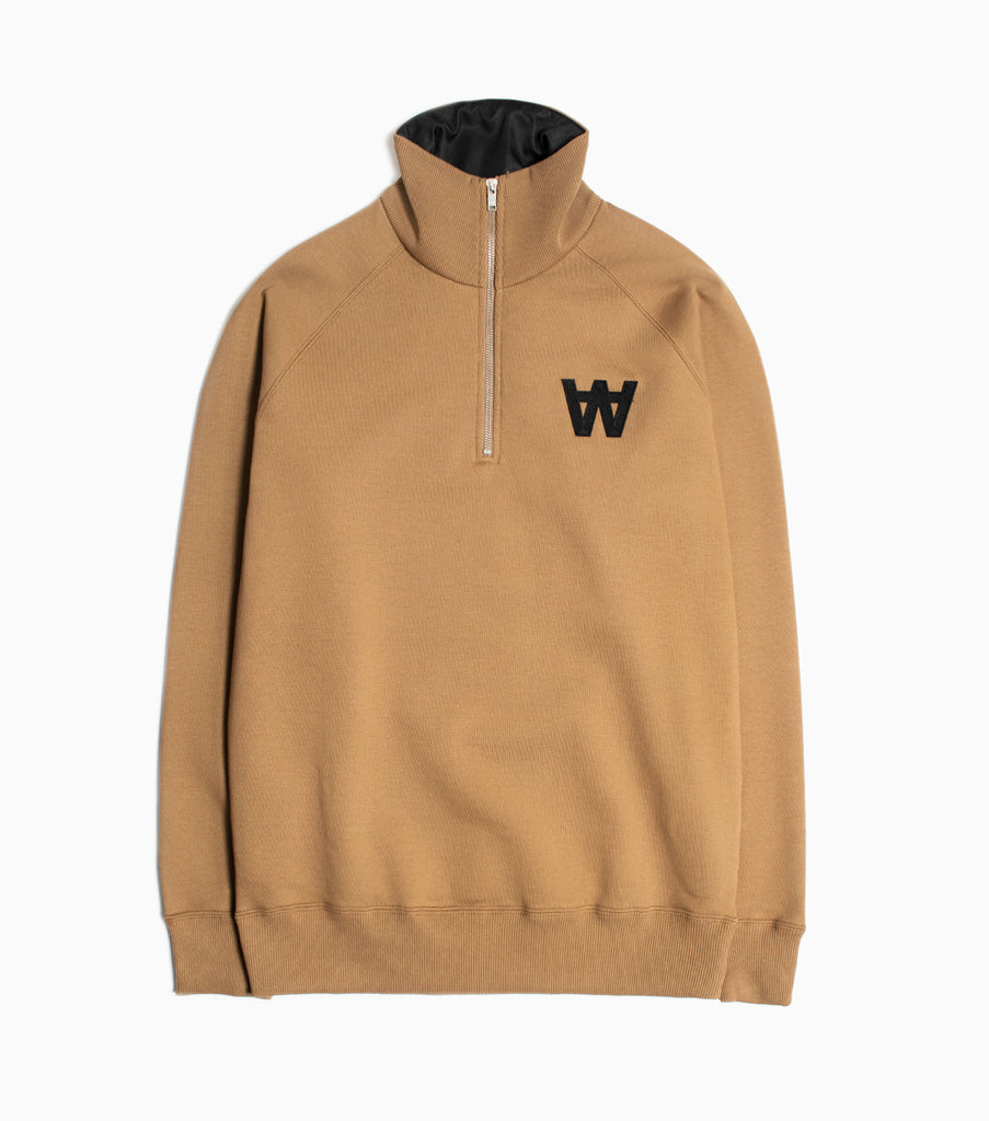 Wood Wood Curtis Sweatshirt - Khaki