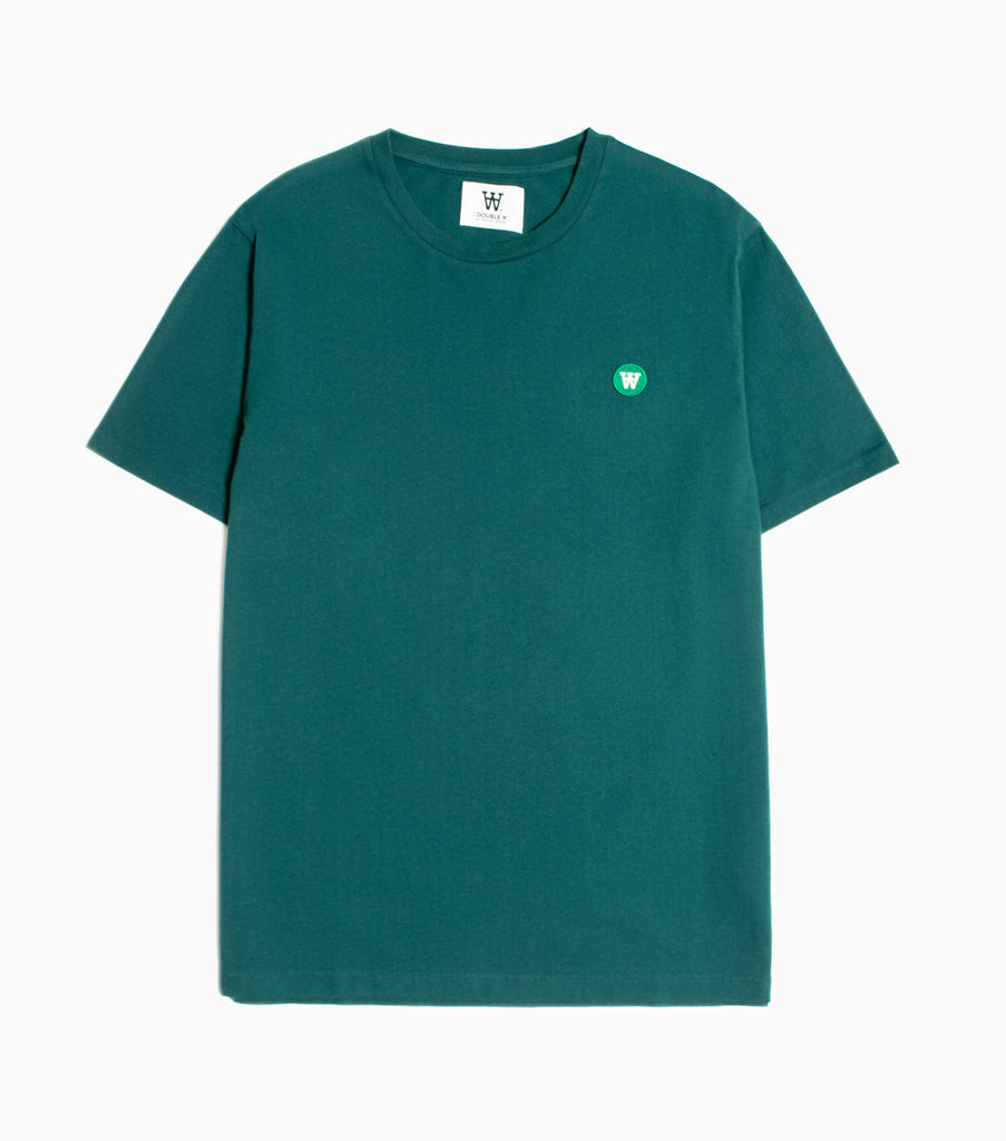 Wood Wood Double A Ace T-Shirt - Pine Green