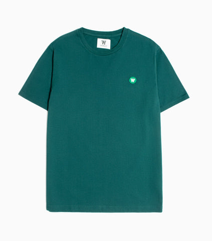 Wood Wood Double A Ace T-Shirt - Pine Green T-Shirt - CARTOCON