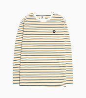 Wood Wood Double A Mel Long Sleeve - Multi Stripe Long Sleeve T-Shirt - CARTOCON