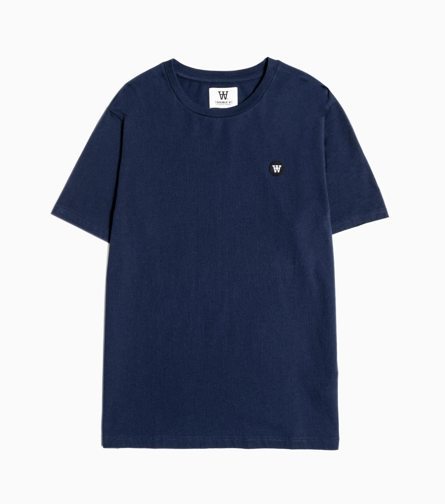 Wood Wood Double A Ace T-Shirt - Navy