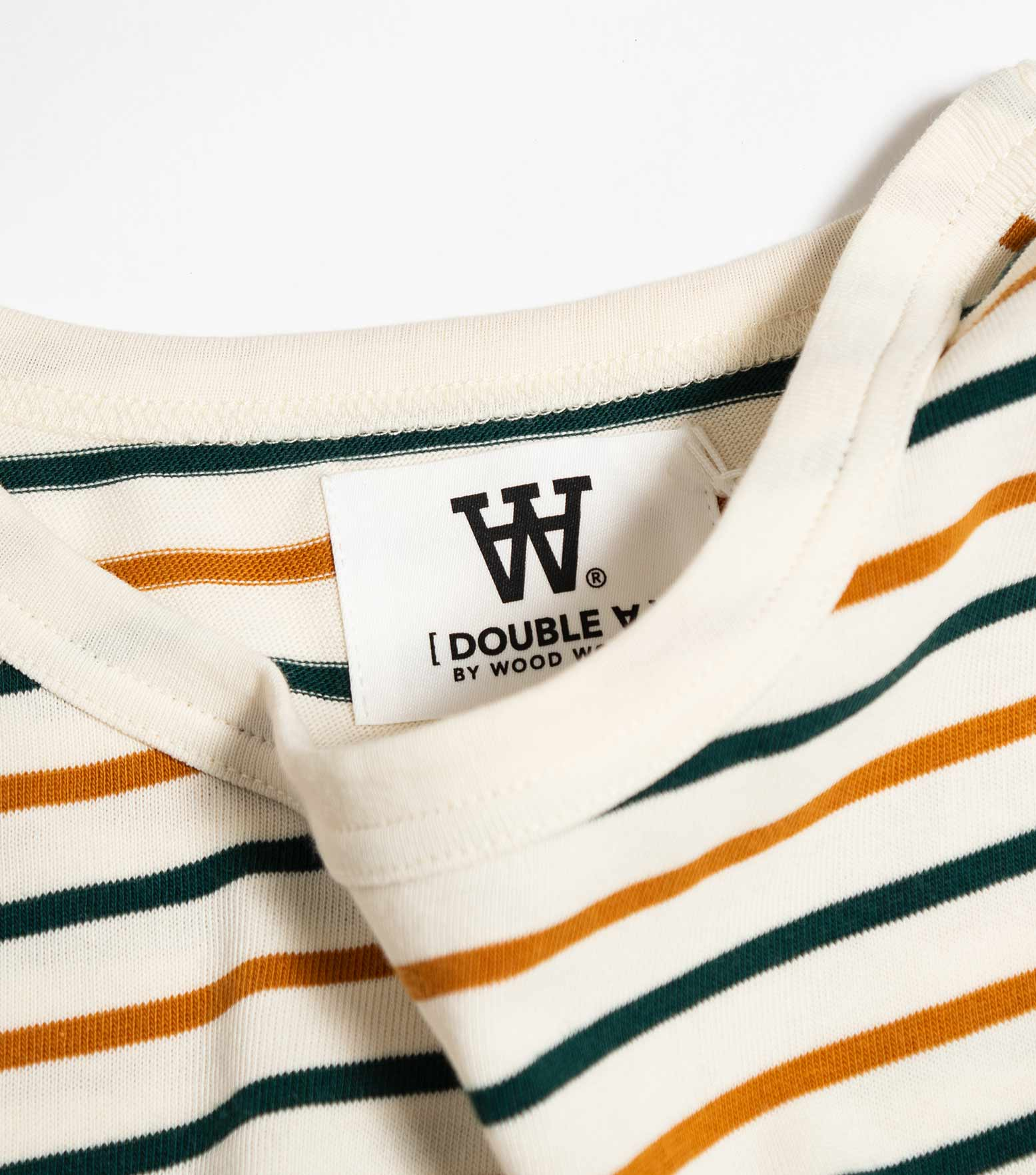 Wood Wood Double A Mel Long Sleeve - Multi Stripe