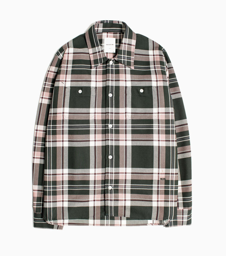 Wood Wood Franco Shirt - Purple Check