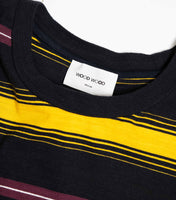 Wood Wood Perry Striped T-shirt - Yellow Stripe T-Shirt - CARTOCON