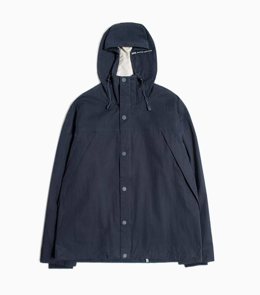 Wood Wood Levi Hooded Jacket - Navy