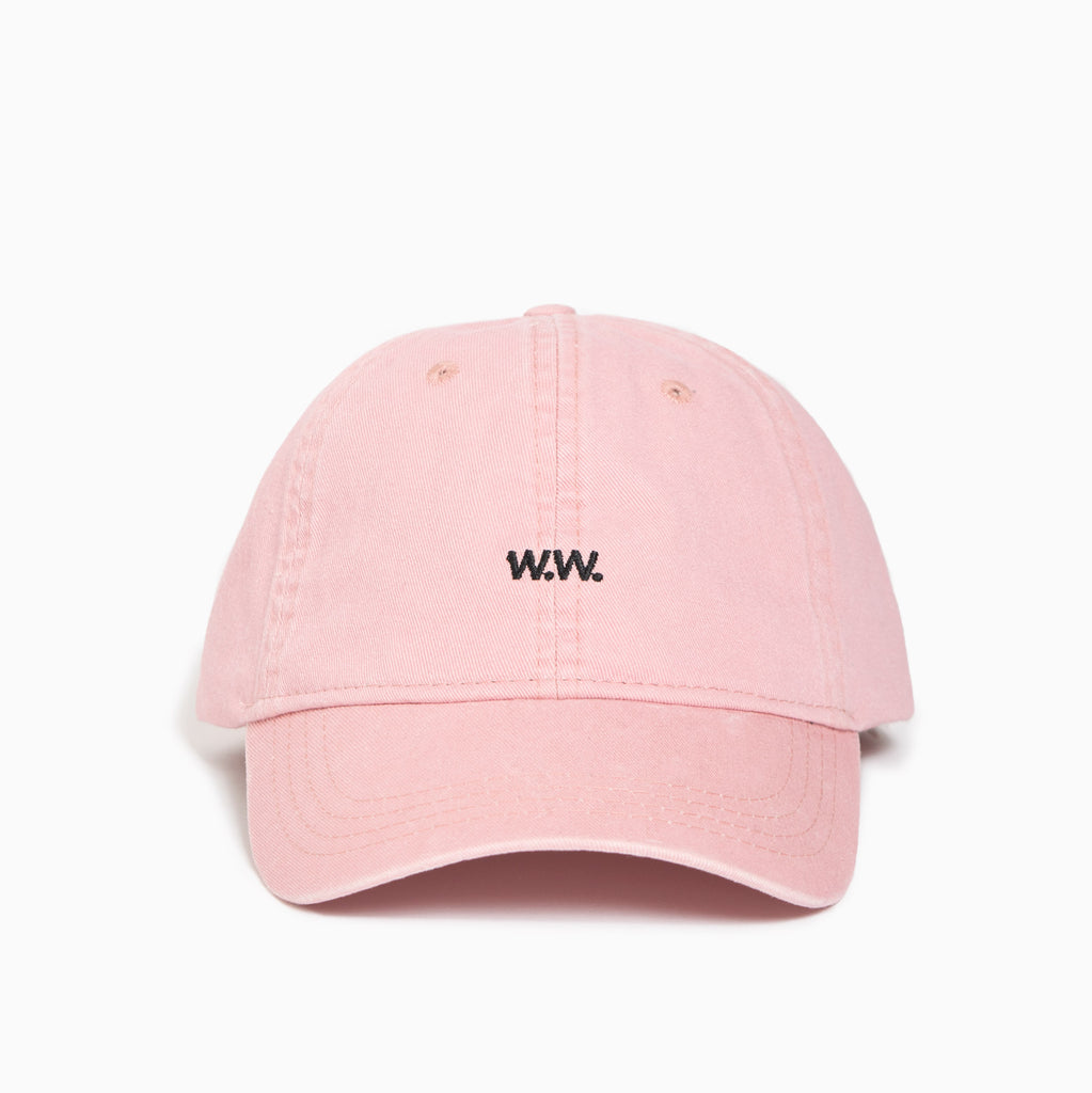 Wood Wood Low Profile Cap - Peach Beige