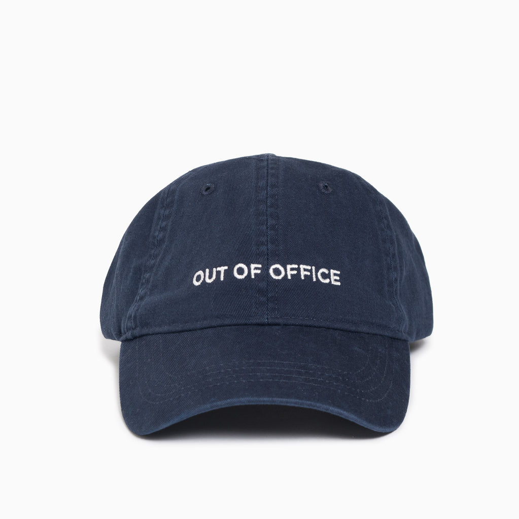 Wood Wood Out Of Office Low Profile Cap - Navy