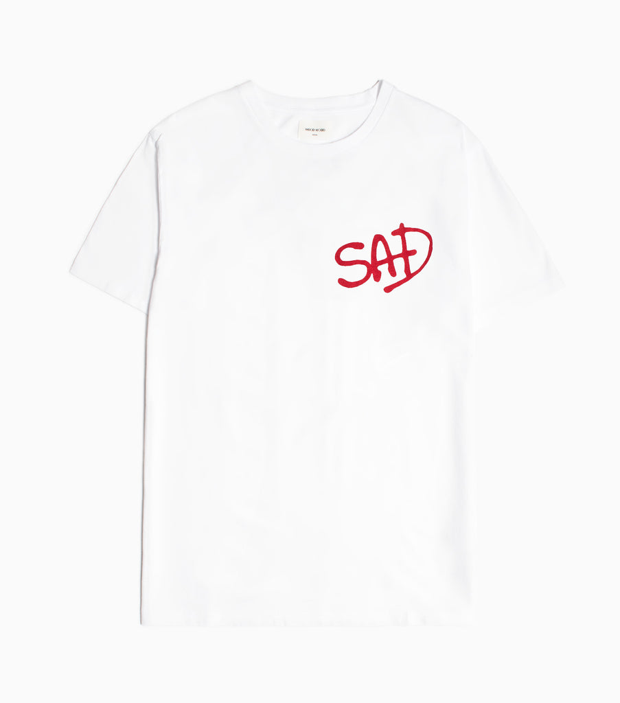 Wood Wood Sad T-shirt - Bright White