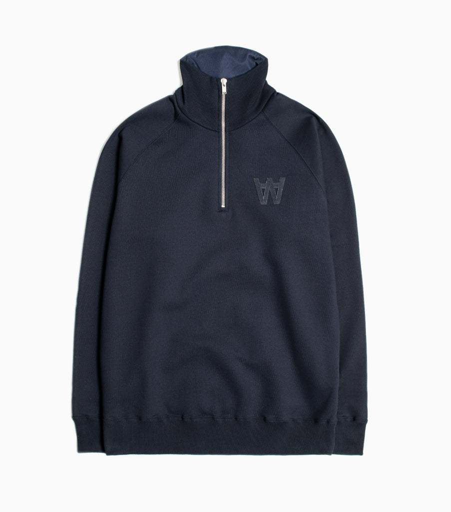Wood Wood Curtis Sweatshirt - Navy