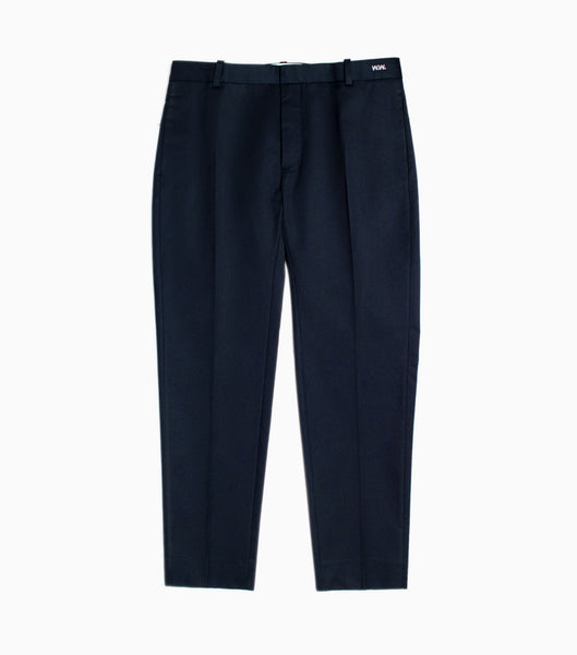 Wood Wood Tristan Trousers - Navy Trousers - CARTOCON