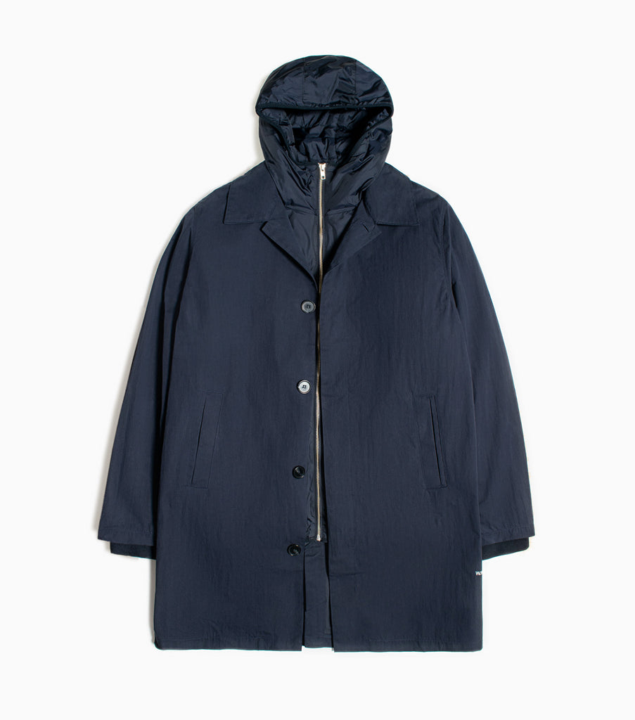 Wood Wood Donovan Jacket - Navy