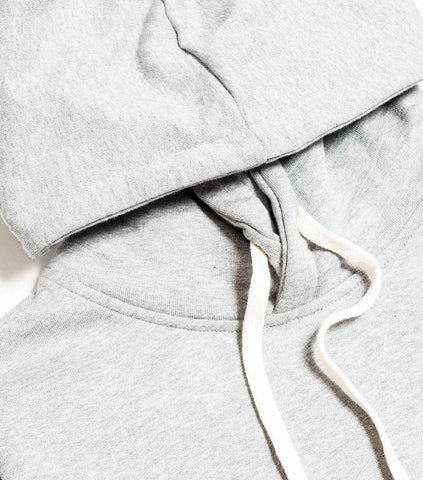 Wood Wood Double A Ian Hoody - Grey Melange Hoody - CARTOCON