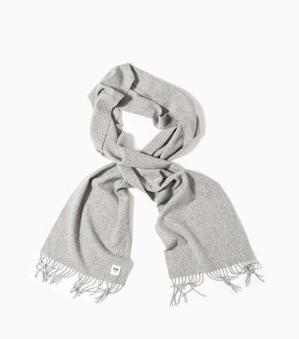 Wood Wood Karlo Scarf - Grey Melagne Scarf - CARTOCON