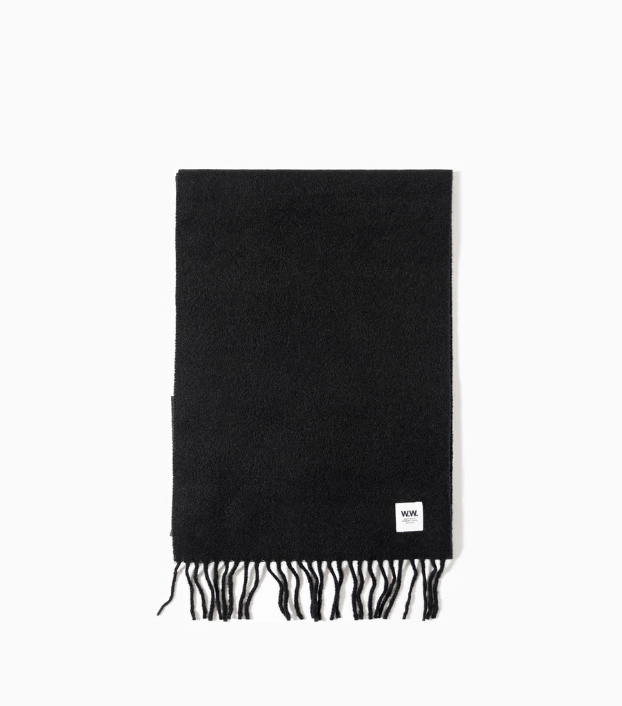 Wood Wood Karlo Scarf - Black