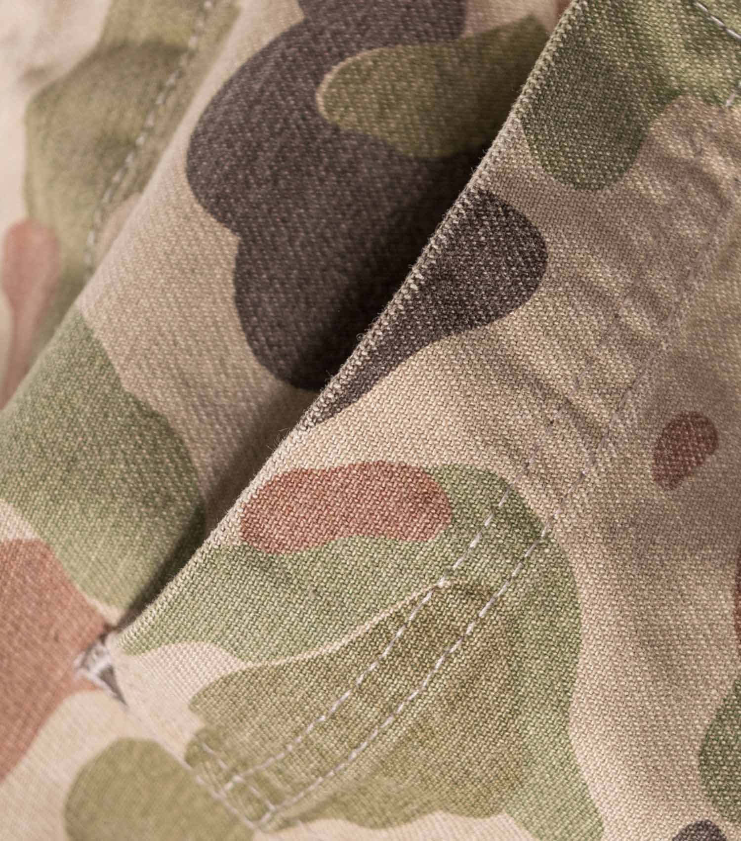 Wood Wood Halvard Camo Trousers - Taupe AOP