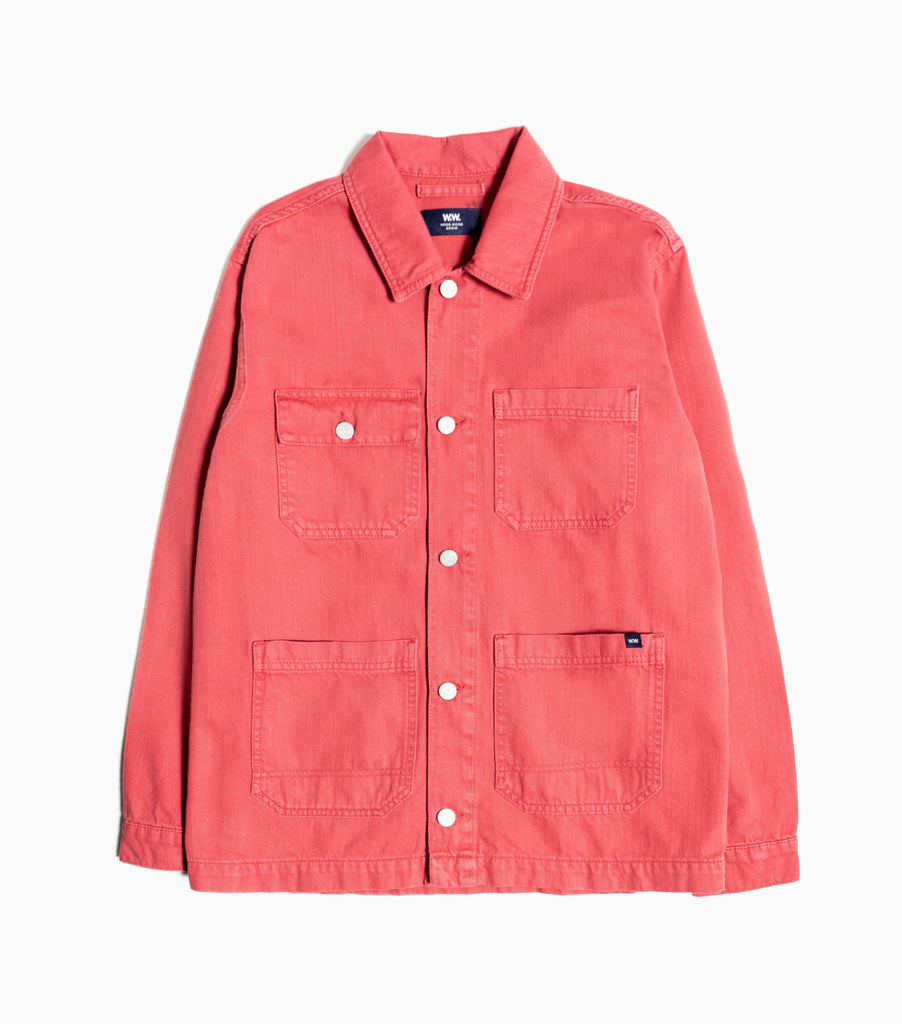 Wood Wood Gavin 8.5oz Denim Work Jacket - Rose