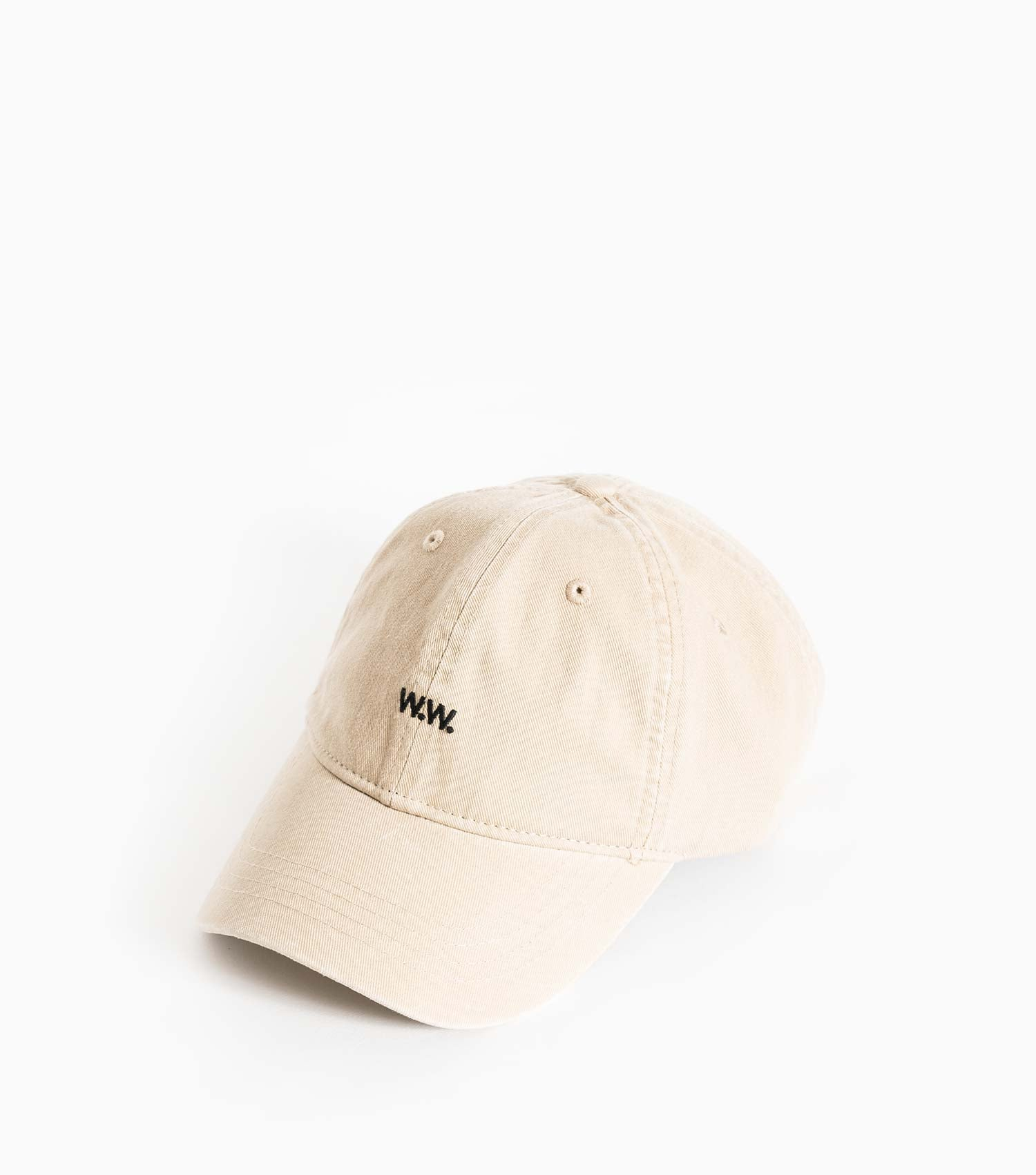 Wood Wood Low Profile Cap - Sand