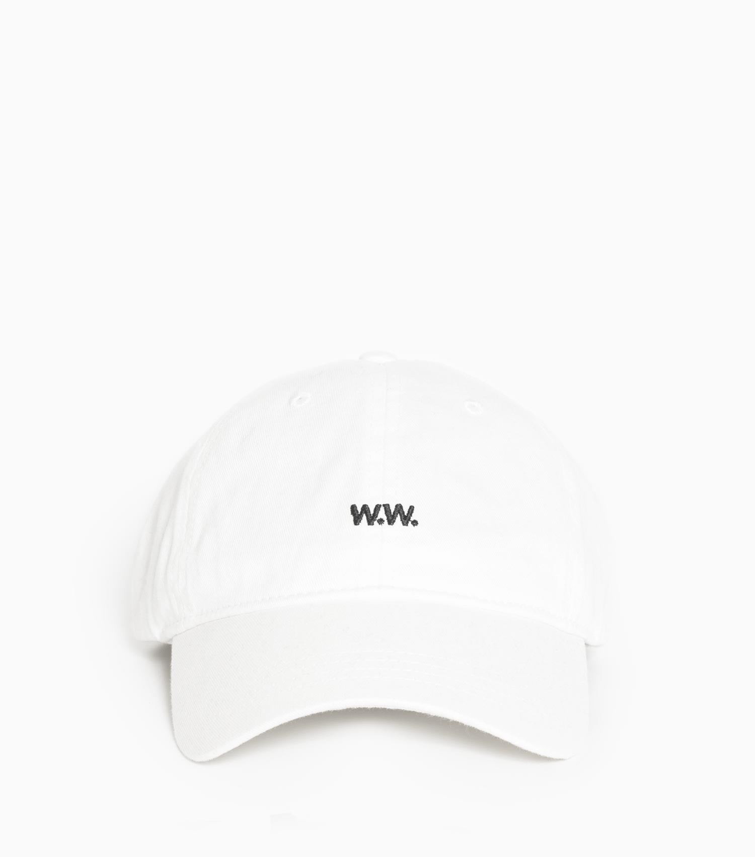 Wood Wood Low Profile Cap - Off-White