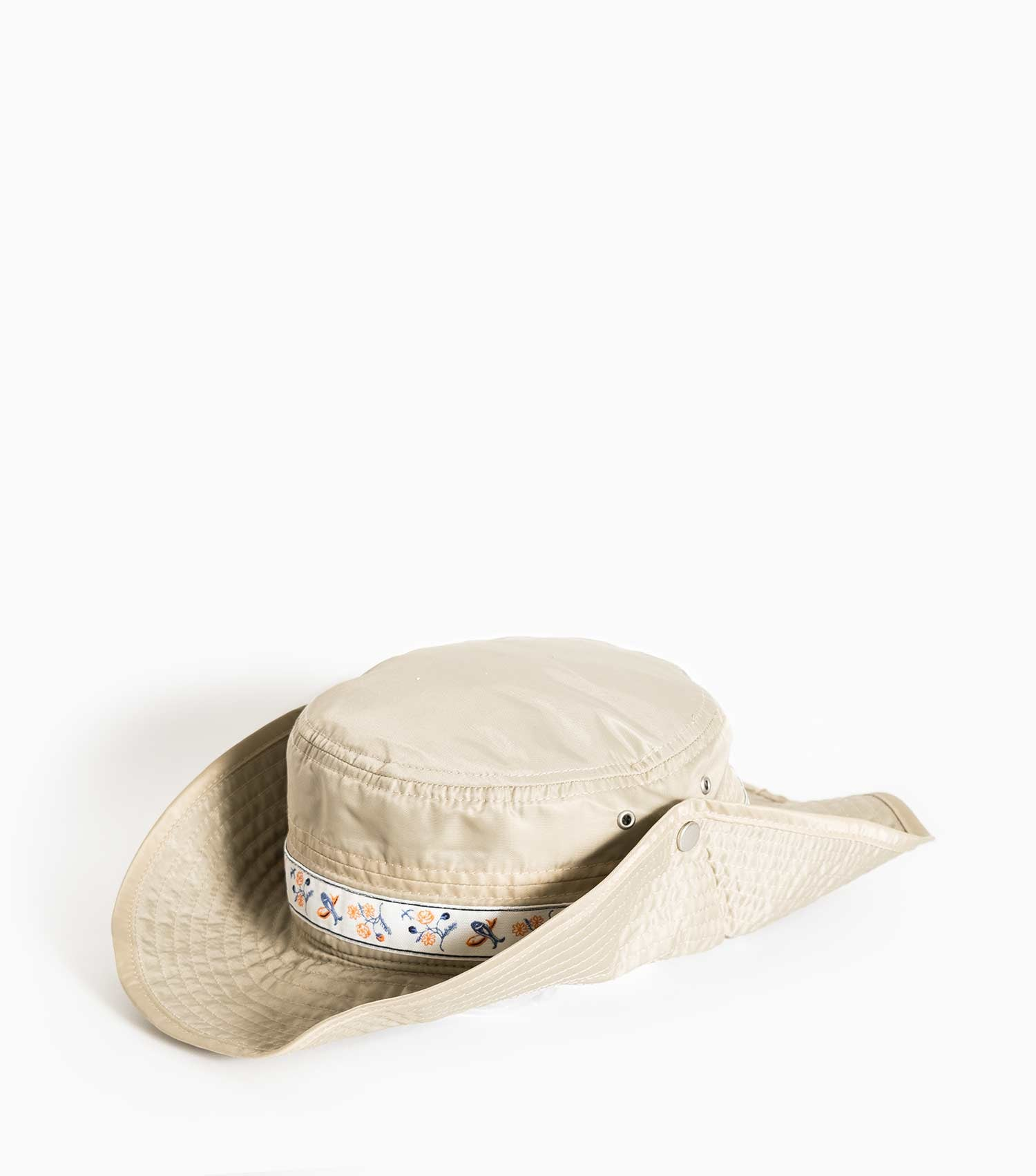 Wood Wood Forest Wide Bucket Hat - Sand