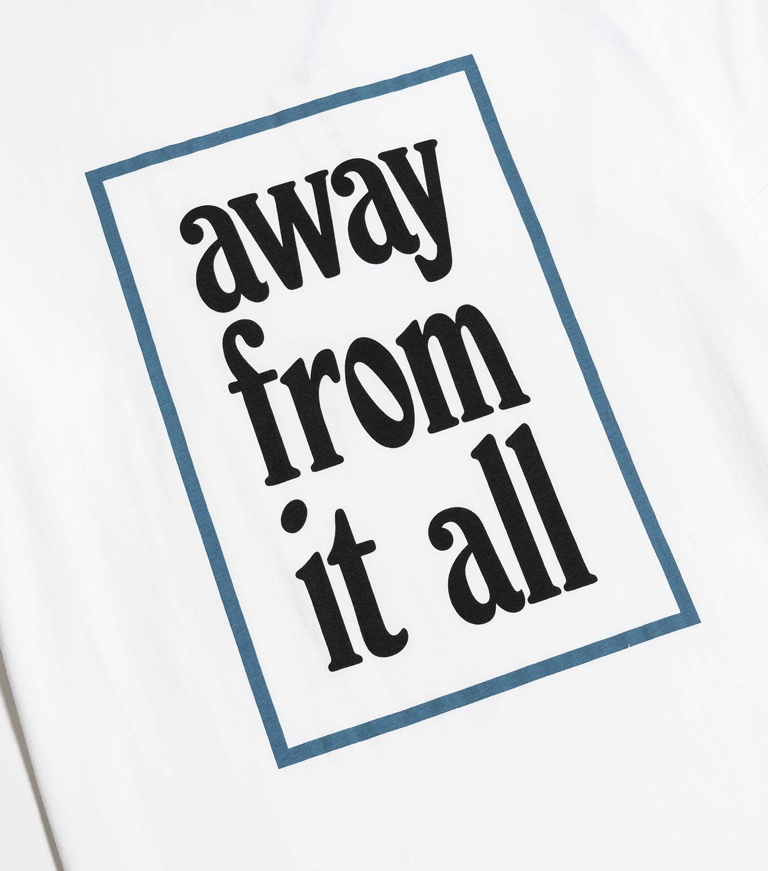 Wood Wood Away From It All T-Shirt - White