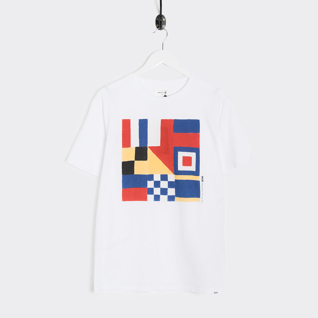 Wood Wood ICS T-Shirt - White