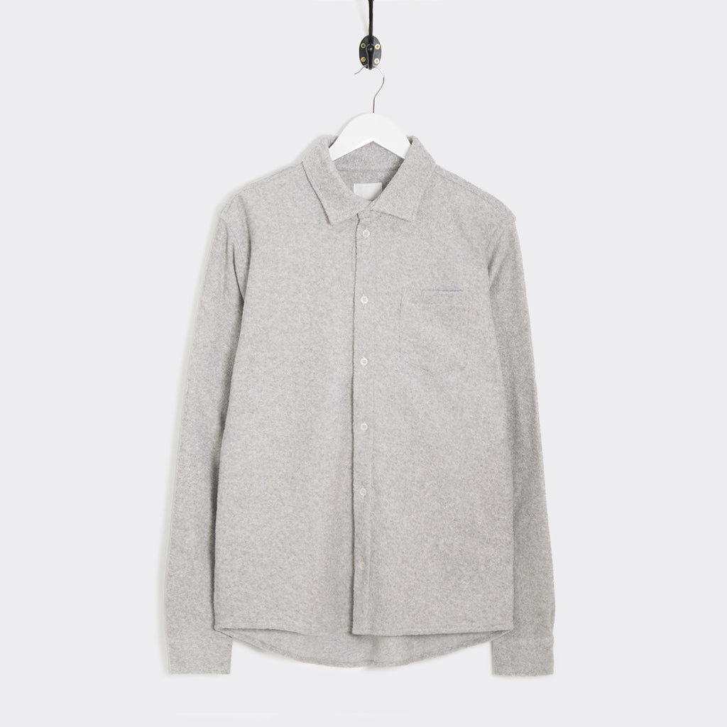 Wood Wood Oval Shirt - Light Grey Melange