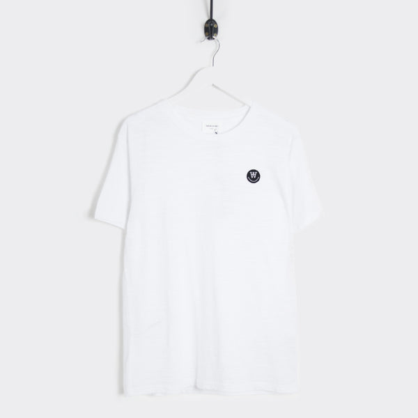 Wood Wood Slater T-Shirt - White