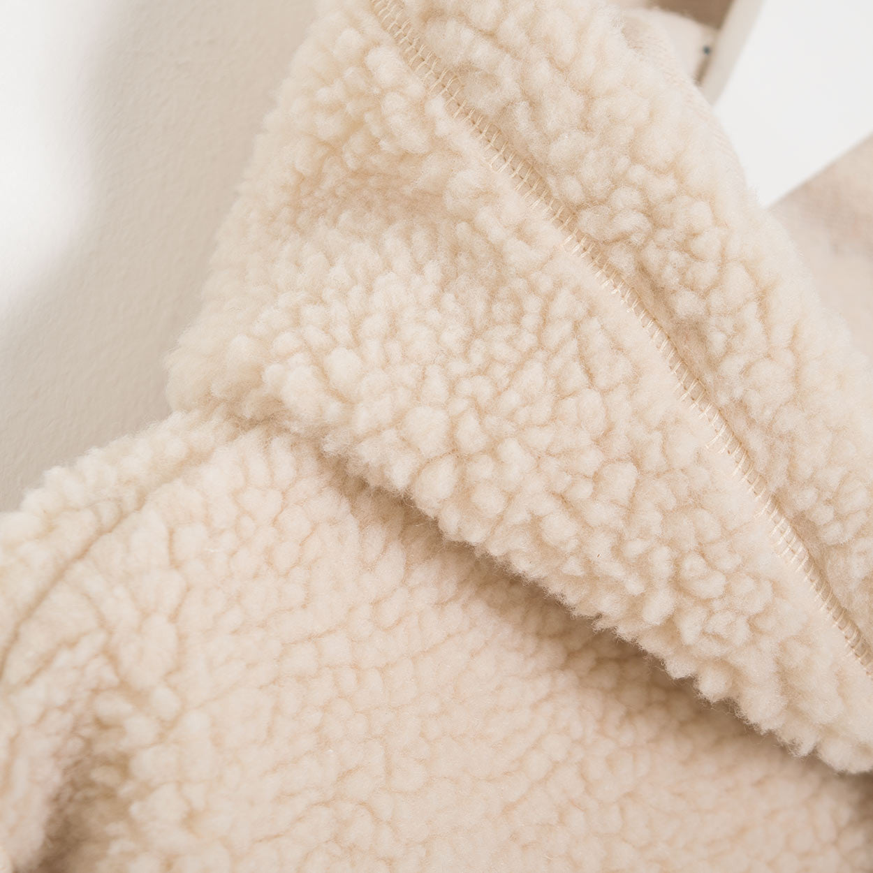 Wood Wood Moorgate Overhead Fleece - Off White