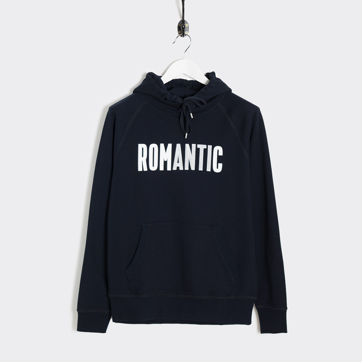 Wood Wood Fred Romantic Hoodie - Navy
