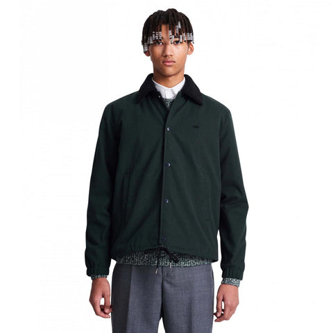 Wood Wood Kael Jacket - Dark Green  - CARTOCON