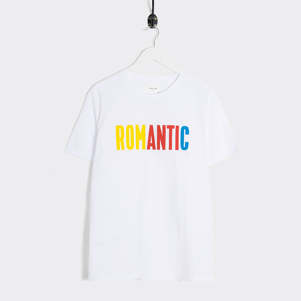 Wood Wood Sami Romantic T-Shirt - Bright White