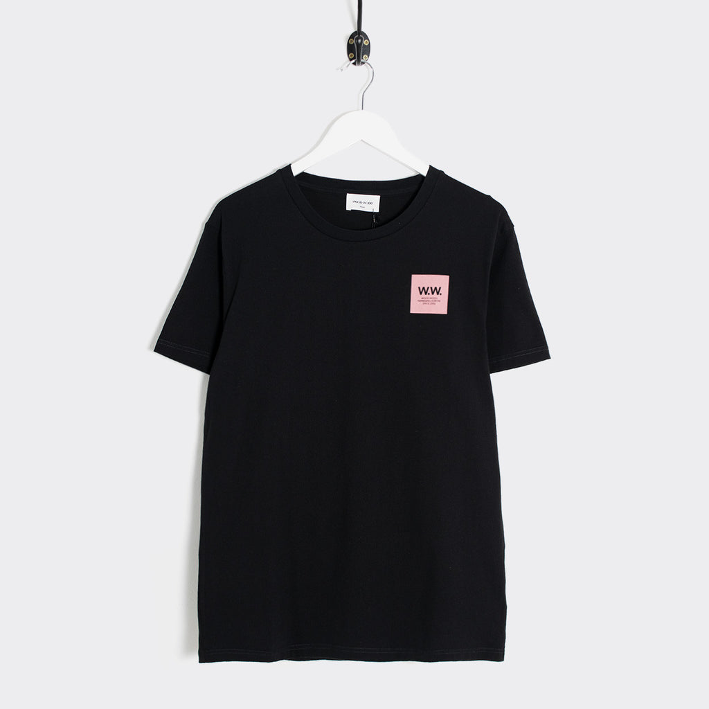 Wood Wood Slater T-Shirt - Black