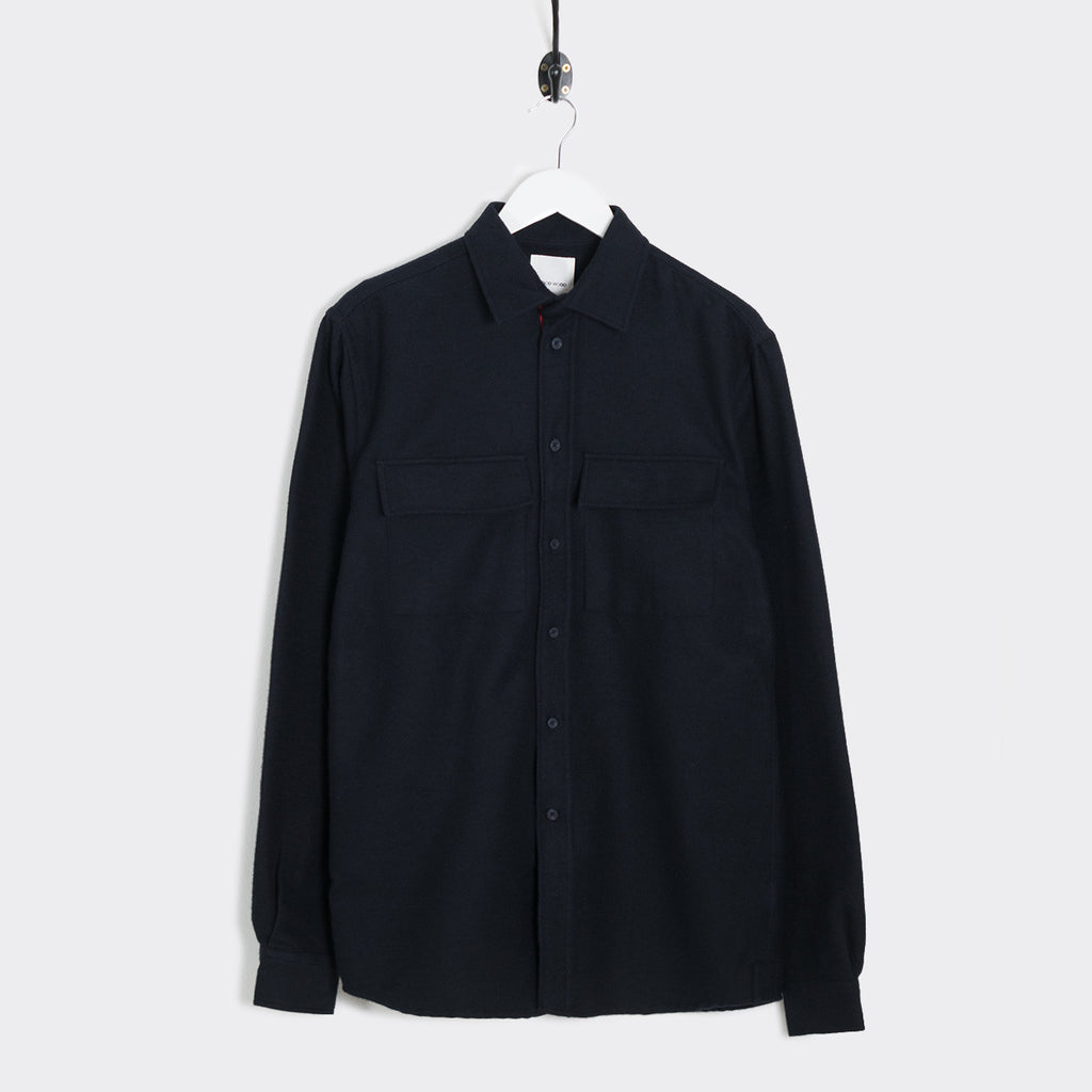 Wood Wood Barking Shirt - Navy
