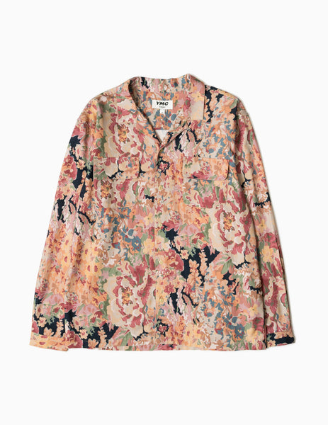 YMC Floral Feathers Shirt - Multi