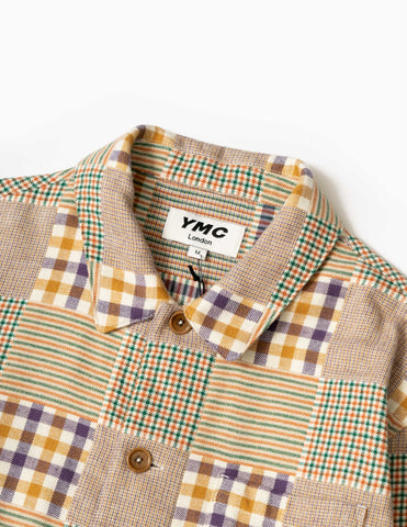 YMC Bowling Shirt - Griffin Check Flannel