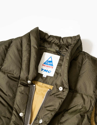 YMC x Cape Heights South Downs Coat - Olive