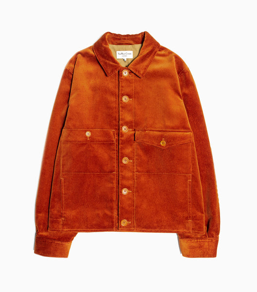 YMC Pinkley 2 Cord Jacket - Rust Jacket - CARTOCON