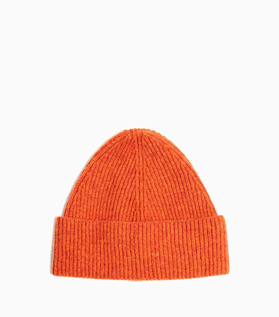 Ymc You Must Create Clothing Tendencies Caps Savage Navy Sold Out Royal Rib Lambswool Hat Rust