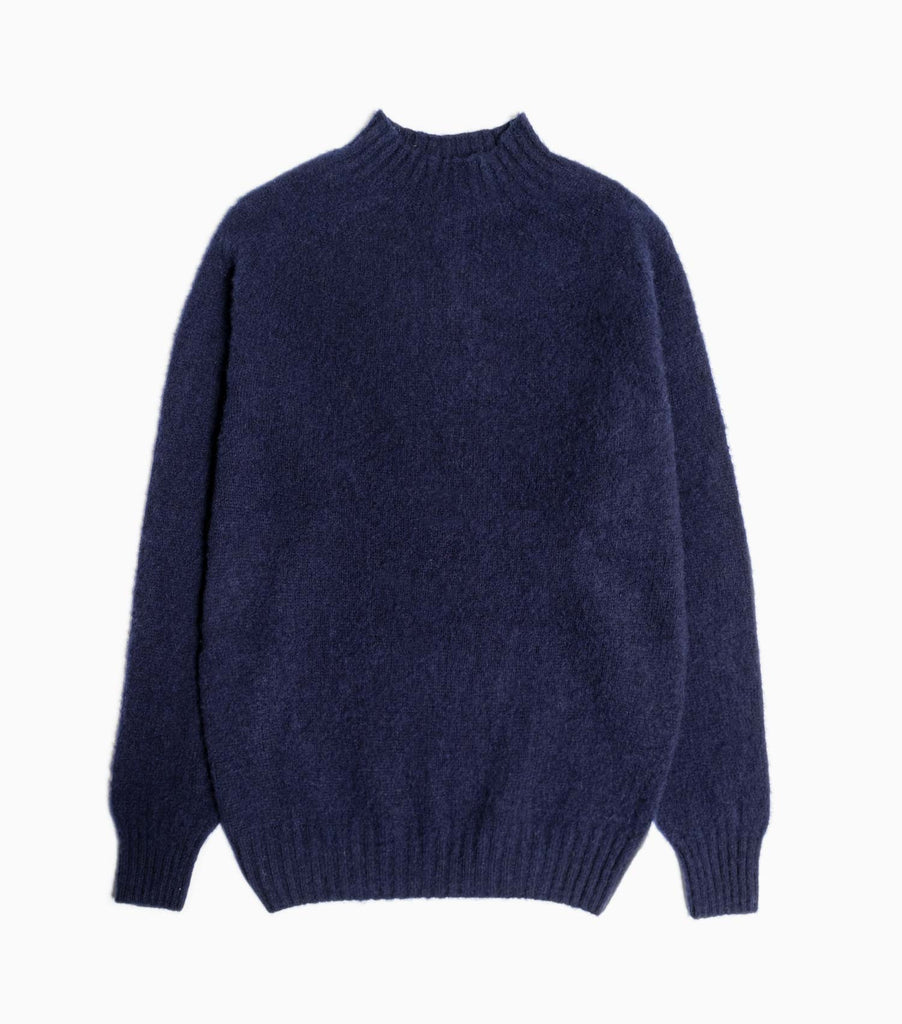 YMC Montand Turtleneck Jumper - Navy
