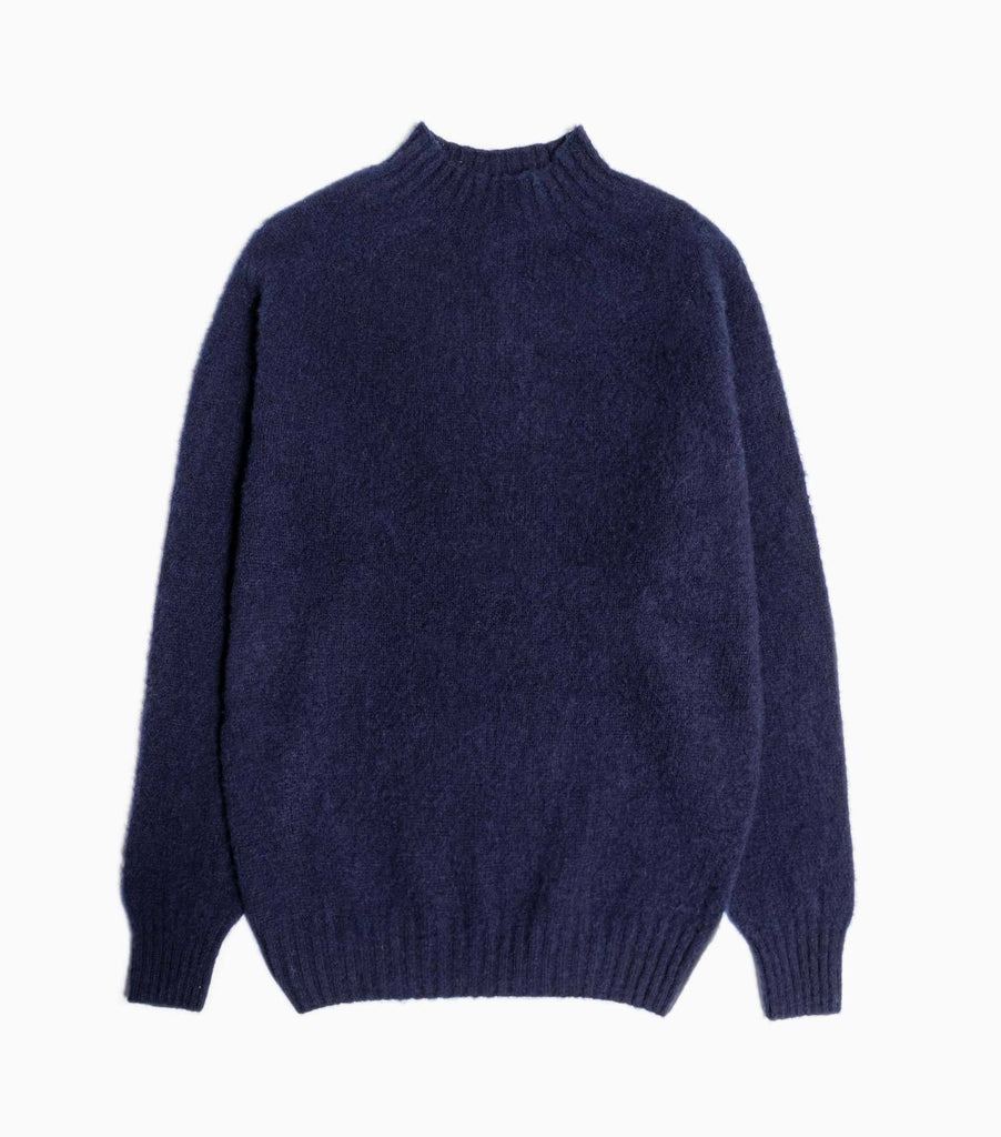 YMC Montand Turtle Neck Knit - Navy