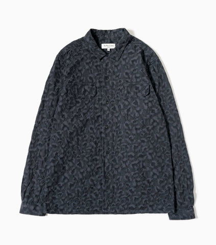 YMC Feathers Shirt - Black Shirt - CARTOCON