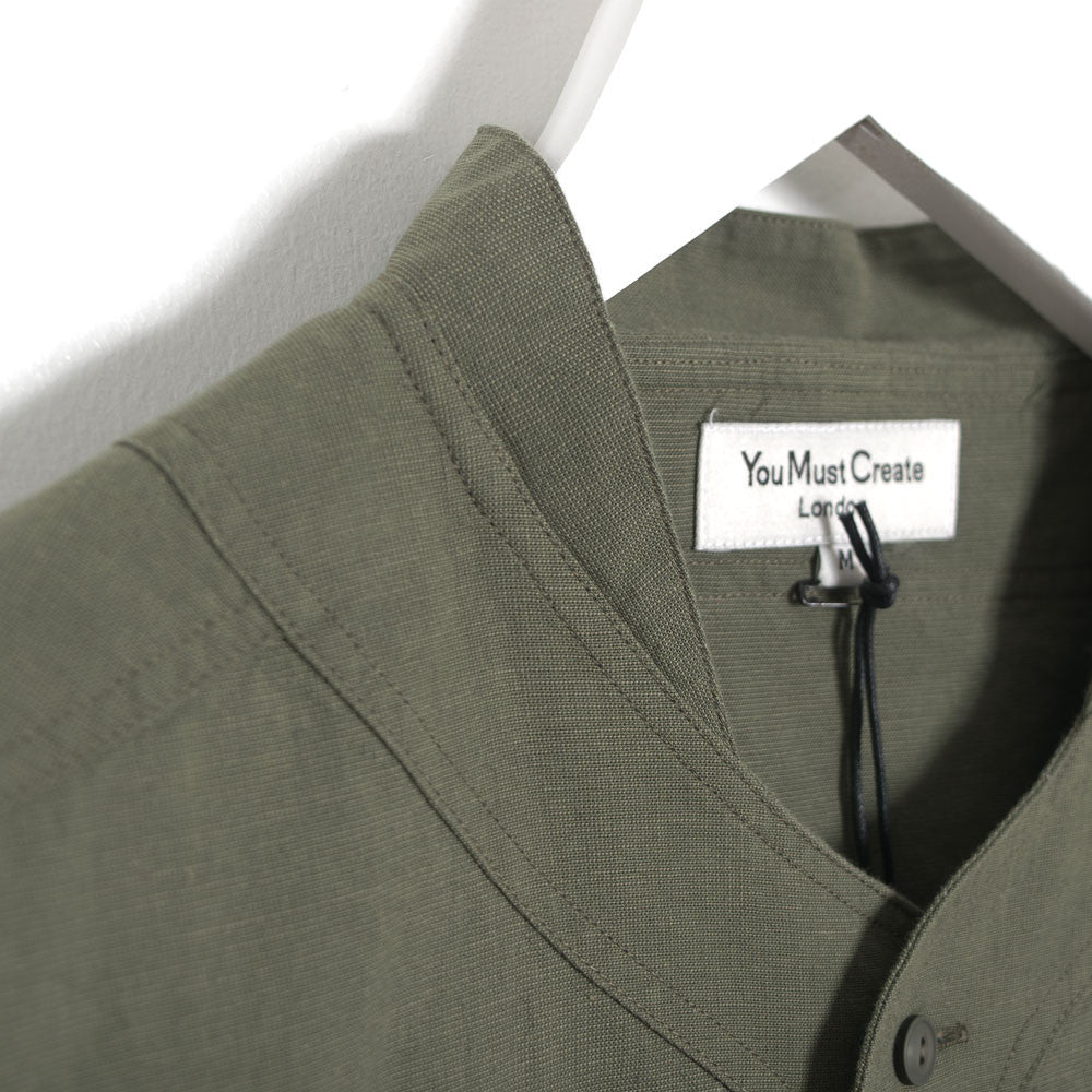 YMC Furies Shirt - Green - 4