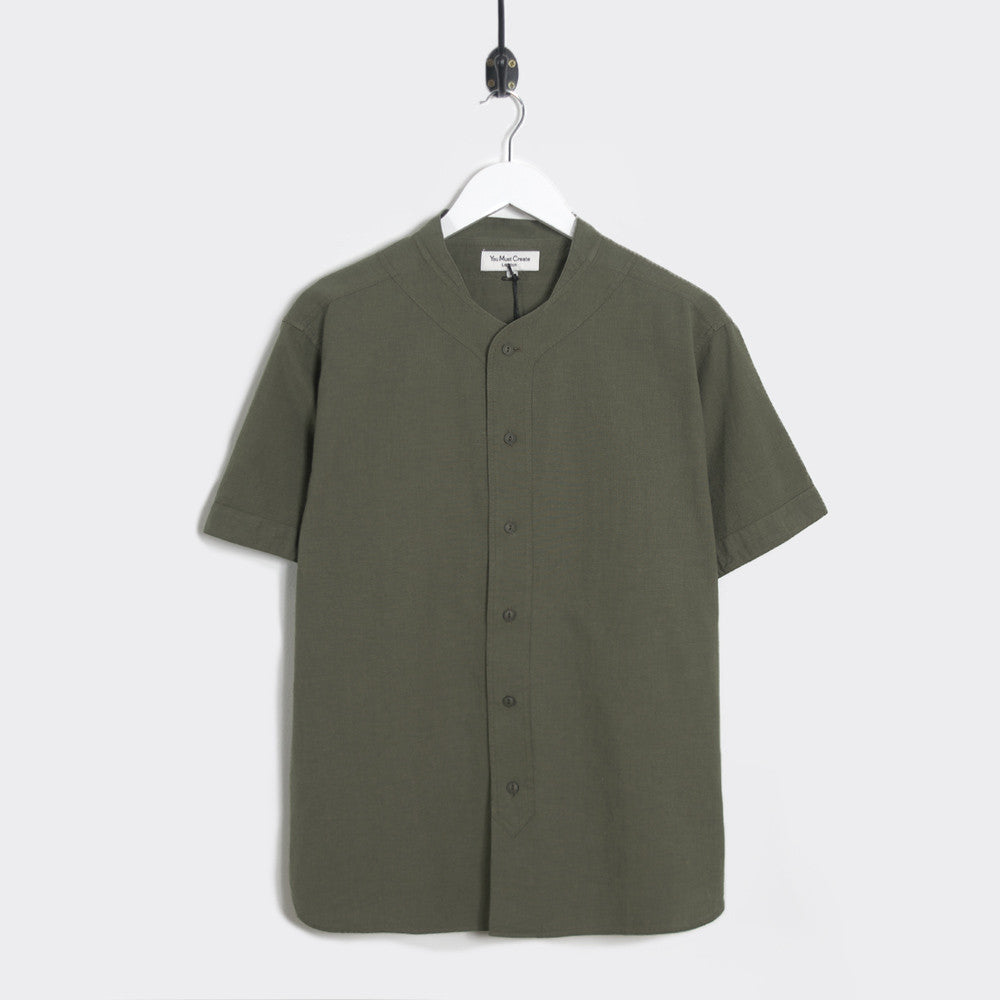 YMC Furies Shirt - Green - 1