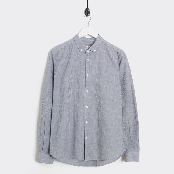 YMC Jan & Dean Shirt - Navy Stripe - 1